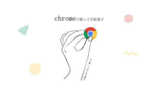唯一設定しているChromeの拡張機能